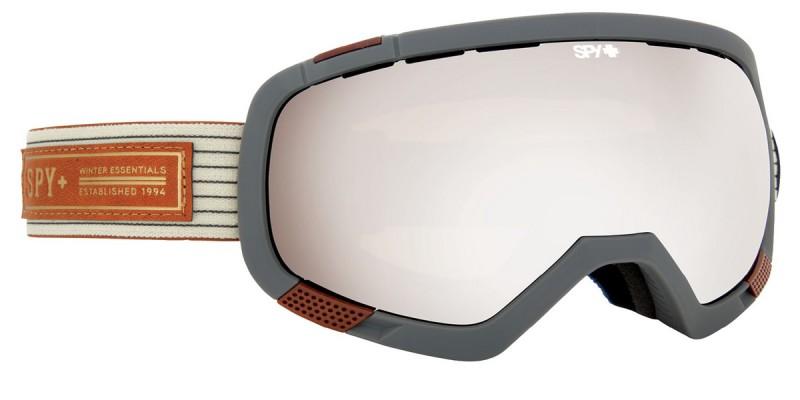 snowboard sí szemüveg ; spy platoon white heritage