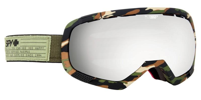 snowboard sí szemüveg ; spy platoon fatigue