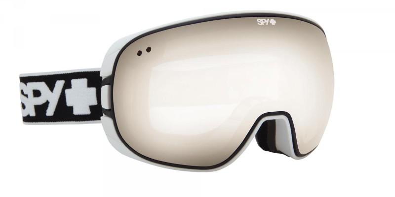 snowboard szemüveg; SPY 2014 SNOW BRAVO WHITE BRONZE SILVER MIRROR