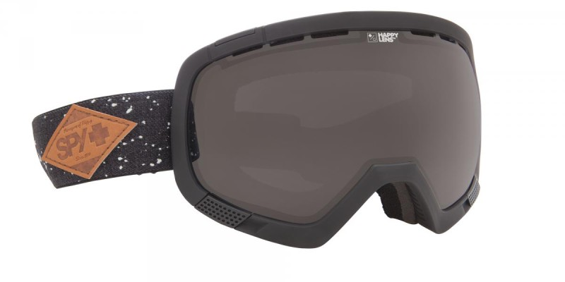 férfi snowboard szemüveg; SPY 2014 SNOW PLATOON MIDNIGHT MAKEOUT DARK GREY