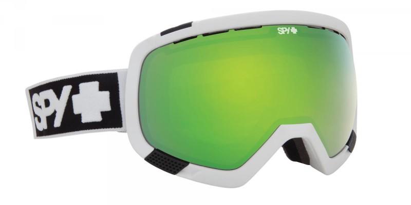 snowboard szemüveg ; SPY 2014 SNOW PLATOON WHITE BRONZE GREEN SPECTRA