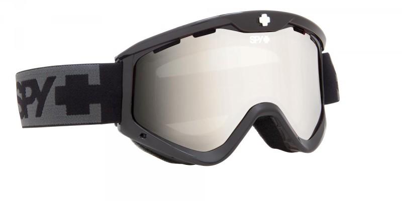 férfi snowboard szemüveg ; SPY 2014 SNOW T3 BLACK BRONZE SLVR MRROR