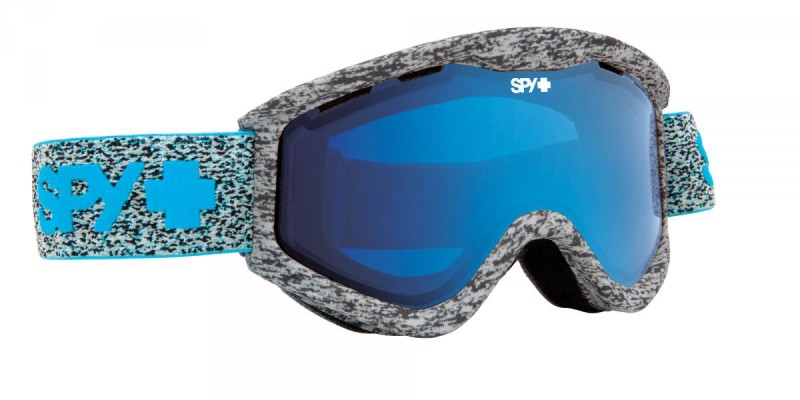 női snowboard szemüveg ; SPY 2014 SNOW T3 NEON SUMMER BLUE CONTACT
