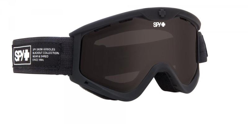 férfi snowboard szemüveg ; SPY 2014 SNOW T3 NOCTURNAL DARK GREY