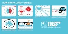 snowboard sí szemüveg ; spy happy lens